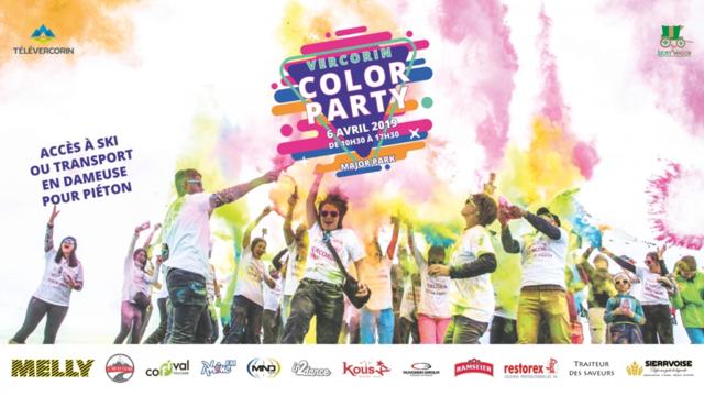 Vercorin Color Party