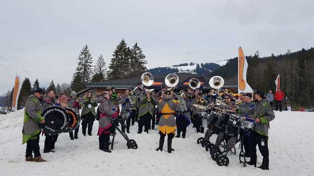 Fasnacht in Schwarzsee