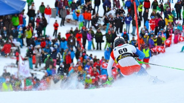 European Cup nightslalom