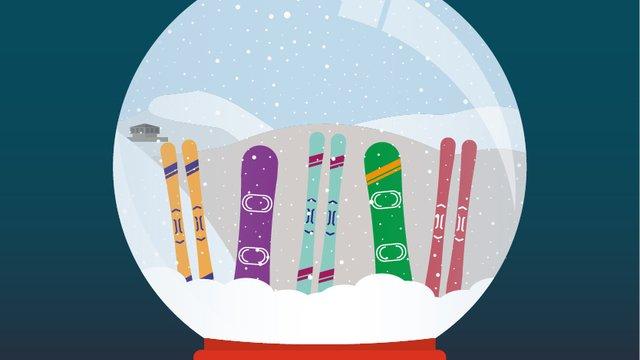 Test de ski et de snowboard