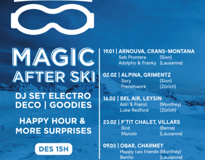 MAGIC AFTER SKI #1 - CMA