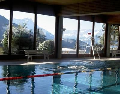 Schwimmbad Leysin